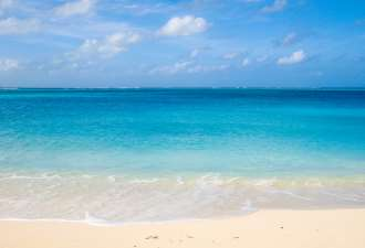 TCI Beach	14x11	matted photograph	 $39.00