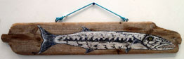 Susan Moore	Postcard 8	3x16	Middle Caicos Driftwood	 $140.00