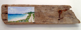 Susan Moore	Middle Caicos	5x21	Middle Caicos Driftwood	 $175.00